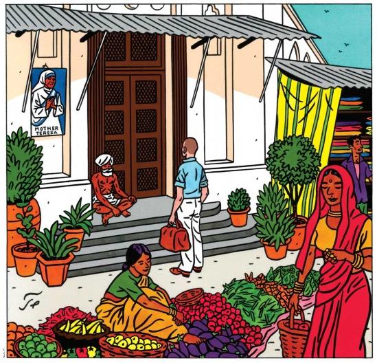 New Yorker illustration by Jean-Claude Floch