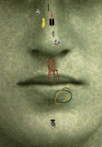 Art by Matthew Richardson, created for this story (a different image was used in Granta.