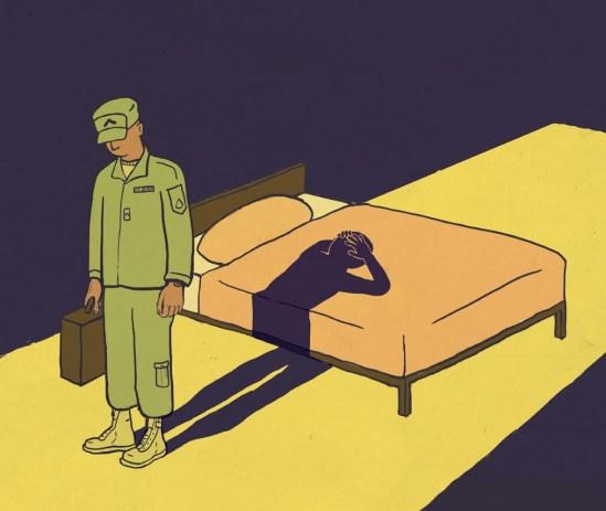 """PTSD"" by Alex Lasher"