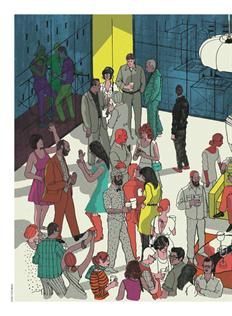 New Yorker illustration by Josh Cochran