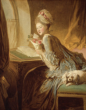 "Fragonard: ""Love Letter"" c. 1770"