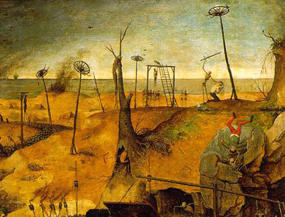"""Detail from Brueghel's """"Triumph of Death"""""""