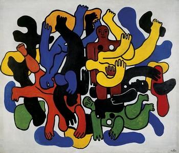 """Fernand Legere, """"Les Grandes Plongeurs Noirs"""""""