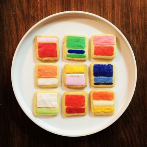 "Mimi O Chun: ""Mark Rothko Cookies"" via Martin Refsal at CMYBacon"