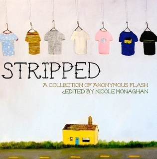 STRIPPED, ed. by Nicole Monaghan, cover art by Anne Buckwalter