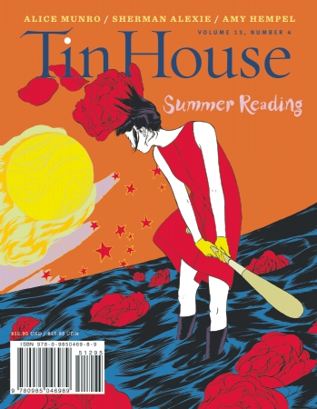 "Tin House cover art: ""Annie Duels the Sun"" by Angie Wang"