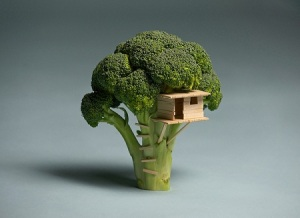 "Brock Davis: ""Broccoli House"""