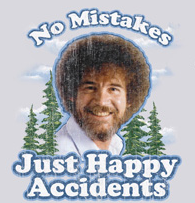 Want a Bob Ross T-shirt? You know you do!