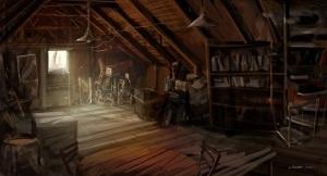 """*jOuey- """"attic room"""""""