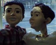 puppets closeup