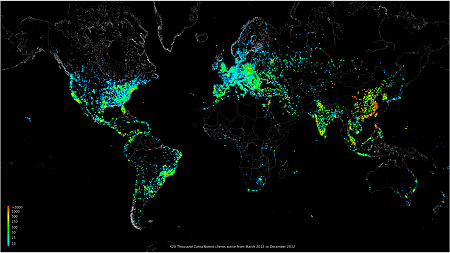 "Internet Census 2012 by ""Carna Botnet"""