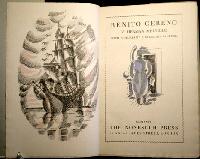 "herman melville ""benito cereno "" a just recompense herman melville ""benito cereno "" 1855"