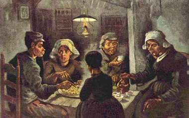 "Van Gogh: ""The Potato Eaters"" 1885"