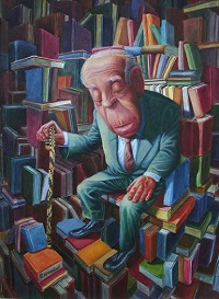 'El paraíso según Borges' (or 'Paradise According to Borges') by Gabriel Capra