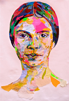 Collage Portrait by John Morse