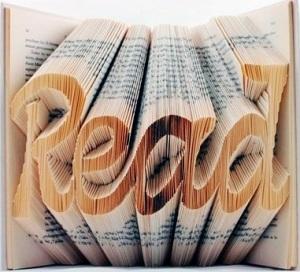 Folded-book art by Isaac Salazar
