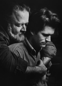 1992 Globe file photo of Father and Son Authors by Michele McDonald