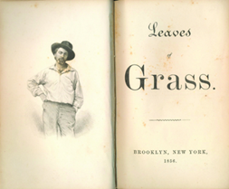Images of the entire first edition of Leaves of Grass from 1855 are available online from the Library of Congress Rare Books Collection
