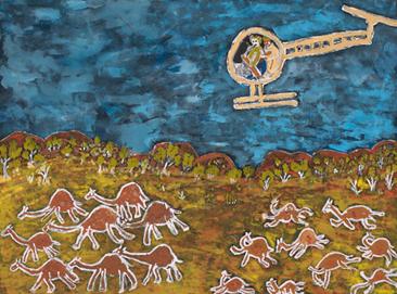 "Eunice Yunurupa Porter, ""Camel Cull"", 2012"