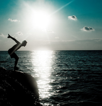 Photo: 'ready to jump' by ouzouzouz; see more on deviantart