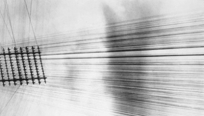 "Tina Modatti: ""Telephone Wires, Mexico"" [modified] (1925)"