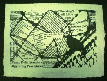 "Chris Arendt: ""Standard Operating Procedure"" (2010) via Combatpaper.org"