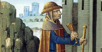 15th century illustration from Bartholomew Anglicus, 'On the Properties of Things'