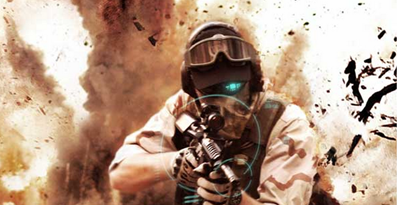 "Image from Tom Clancy's ""Ghost Recon Future Soldier"" video game"