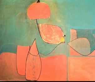 """de Kooning: """"Elegy"""", 1939"""