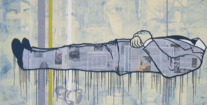 "Ruben Ubiera:  ""Death Of Journalism"" (2008)"