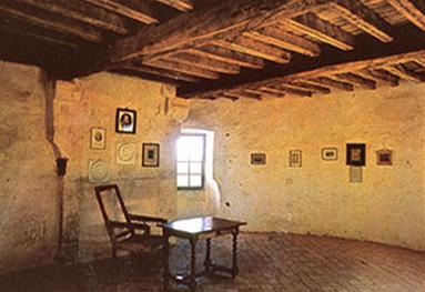 The Library in Michel de Montaigne's Tower