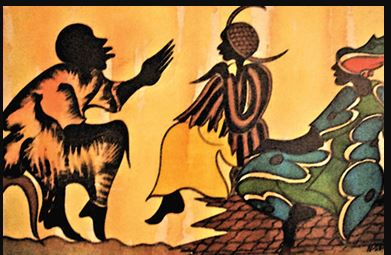 """The Storyteller"" :  Zimbabwean art"