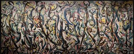 "Jackson Pollock, ""Mural"" (1943)"
