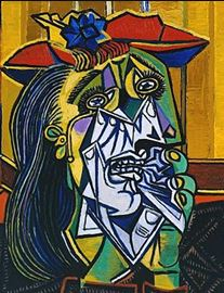 "Picasso, ""Weeping Woman"""