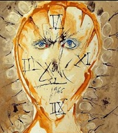 Dali: Self Portrait Sundial