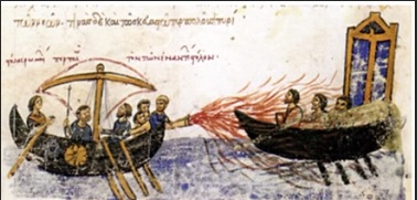 """Greek fire"", ca. 7th century"