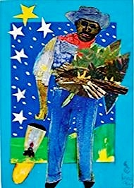 "Romare Bearden, ""Untitled"" (The Father Comes Home) c.1970"