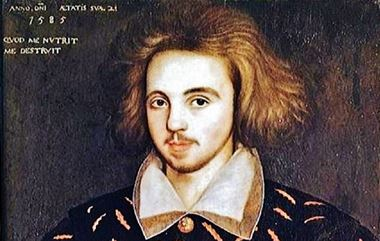 Christopher Marlowe? Portrait at Cambridge University