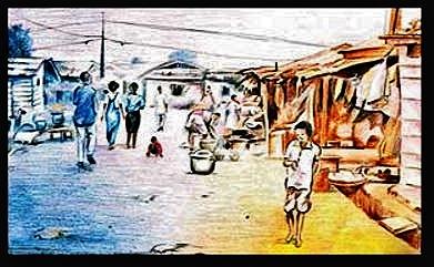 """Zongo Street"" by Ruben Gozi, Tema, Ghana"