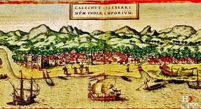 Calicut: Civitates orbis terrarum, 1572