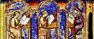 14th C manuscript, Royal Library of the Monastery of San Lorenzo del Escorial, Madrid, Spain