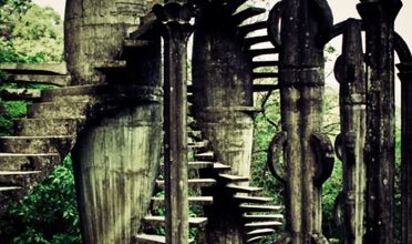 From the Edward James sculpture garden in Xilitla, Mexico