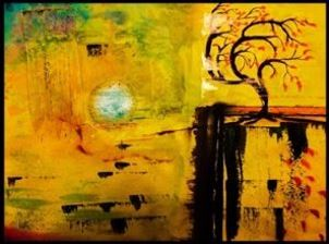 "NER art by Birgit Bunzel Linder: ""Wind"""