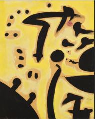 Joan Miro: woman, birds