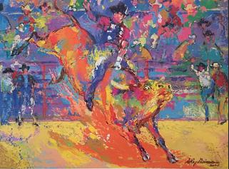 LeRoy Neiman: Bull Rider