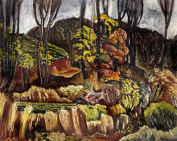 'Autumn in Georgia,' by Hale Woodruff, ca. 1931