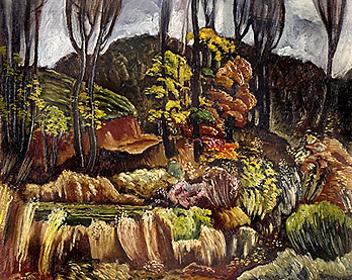 'Autumn in Georgia,' by Hale Woodruff, ca. 1931