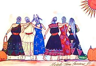 Michelle Tsosie Sisneros:  Six Sisters Harvest